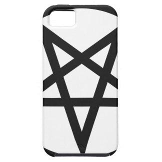 Capa Para iPhone 5 Pentagram corajoso