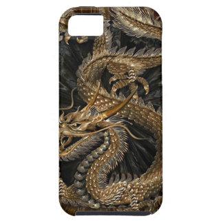 Capa Para iPhone 5 Pentagram do dragão