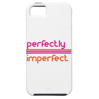 Capa Para iPhone 5 Perfeitamente imperfeito