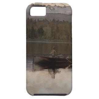 Capa Para iPhone 5 Pesca no silêncio