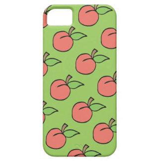 Capa Para iPhone 5 Pêssego com a caixa 5/5s/6 verde do iPhone do