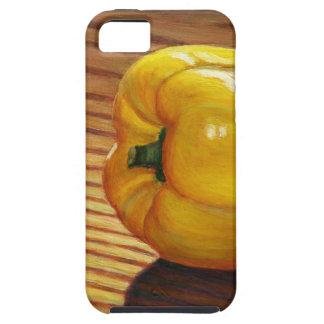 Capa Para iPhone 5 Pimenta amarela