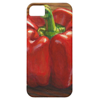 Capa Para iPhone 5 Pimenta de Bell vermelha