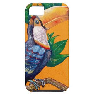 Capa Para iPhone 5 Pintura bonita do pássaro de Toucan