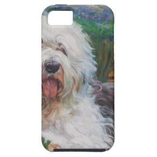 Capa Para iPhone 5 Pintura inglesa velha bonita da arte do cão do