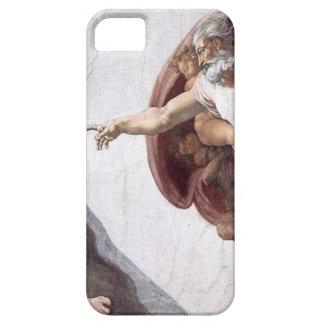 Capa Para iPhone 5 Pintura original de Michelangelo na capela Roma do