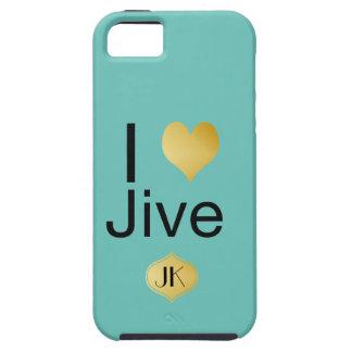 Capa Para iPhone 5 Playfully o coração elegante de I Jive
