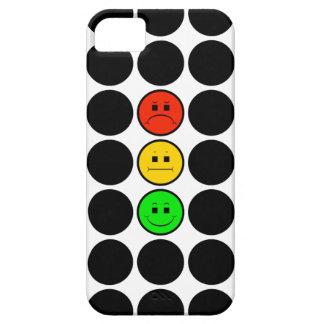 Capa Para iPhone 5 Pontos pretos de w do sinal de trânsito