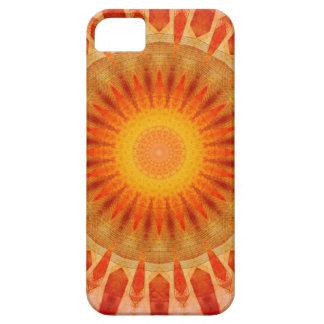 Capa Para iPhone 5 Por do sol da mandala