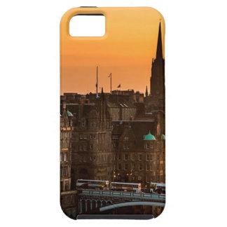 Capa Para iPhone 5 Pôr-do-sol da skyline de Edimburgo