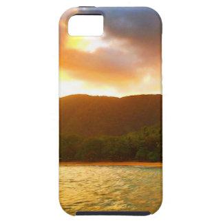Capa Para iPhone 5 Por do sol do molhe da angra da palma