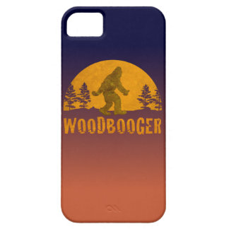 Capa Para iPhone 5 Por do sol do vintage de Woodbooger
