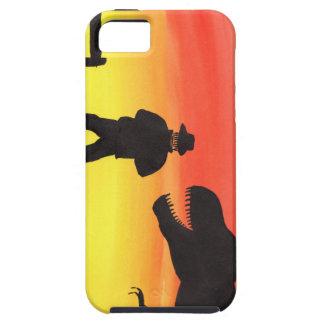 Capa Para iPhone 5 Por do sol no rancho do dinossauro