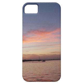 Capa Para iPhone 5 Por do sol sobre a baía de Florida, Largo chave FL