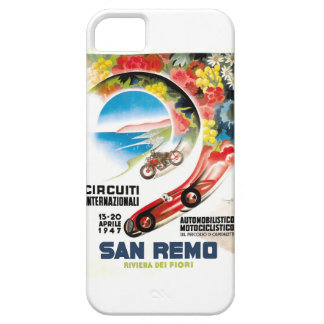 Capa Para iPhone 5 Poster 1947 grande da raça de San Remo Prix