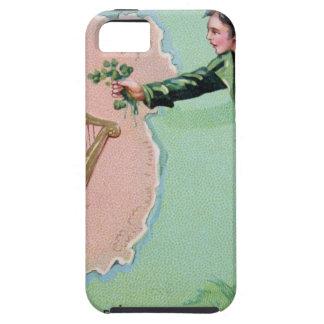 Capa Para iPhone 5 Poster da ilha dos erin do dia de Patrick de santo