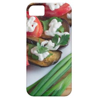 Capa Para iPhone 5 Prato de vegetariano da beringela stewed