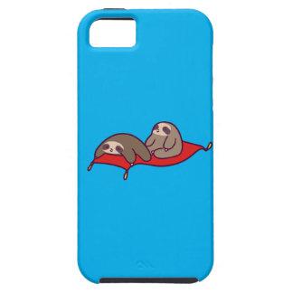 Capa Para iPhone 5 Preguiças mágicas do tapete