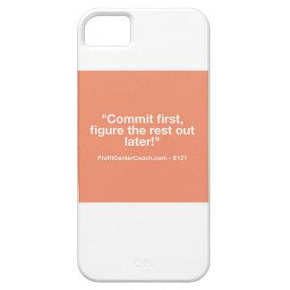 Capa Para iPhone 5 Presente pequeno do proprietário empresarial 121 -