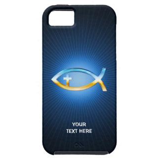 Capa Para iPhone 5 Presentes originais cristãos da cruz | dos peixes