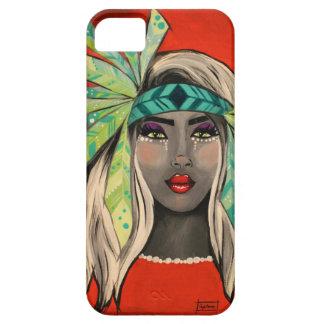 Capa Para iPhone 5 Princesa de turquesa