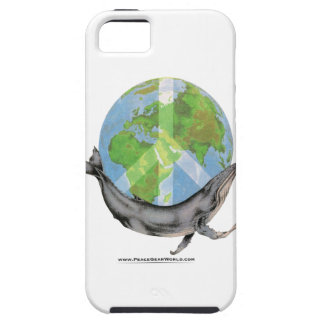 Capa Para iPhone 5 Projeto da paz da baleia de Humpback