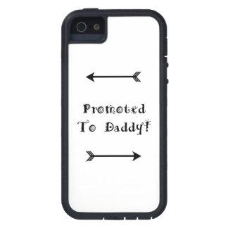 Capa Para iPhone 5 Promovido ao pai - adoptivo adote - novo papai