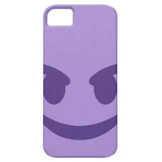 Capa Para iPhone 5 Purple Devil Emoji