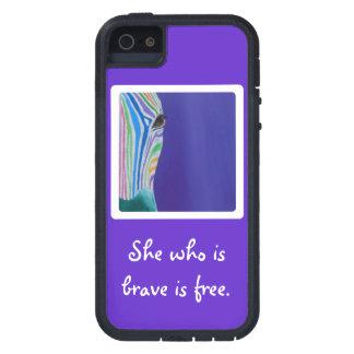 Capa Para iPhone 5 Que é brava está livre