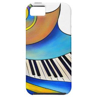 Capa Para iPhone 5 Redemessia - piano espiral