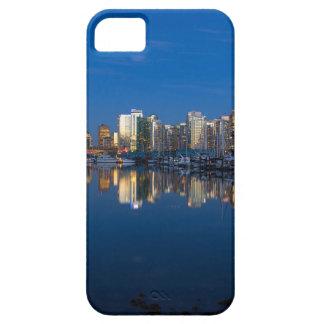 Capa Para iPhone 5 Reflexão azul da hora de Vancôver BC