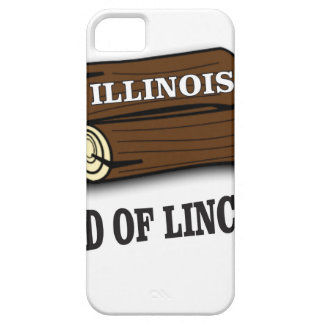 Capa Para iPhone 5 Registros de Illinois de Lincoln