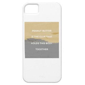 Capa Para iPhone 5 Regras da manteiga de amendoim
