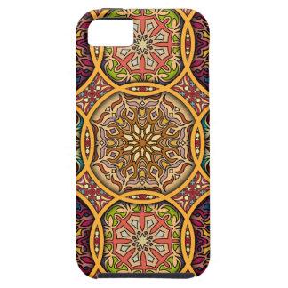 Capa Para iPhone 5 Retalhos do vintage com elementos florais da