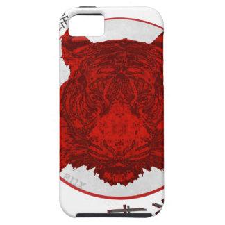 Capa Para iPhone 5 Retorno do tigre afortunado