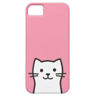 Capa Para iPhone 5 Retrato engraçado do gato