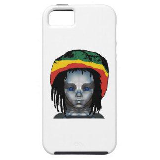 Capa Para iPhone 5 Robótica Rastafarian