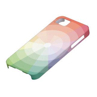 Capa Para iPhone 5 Roda de cor colorida
