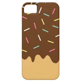 Capa Para iPhone 5 Rosquinha do chocolate