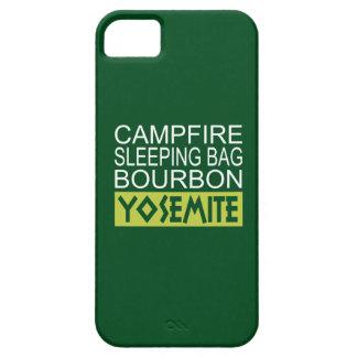 Capa Para iPhone 5 Saco de sono Bourbon da fogueira Yosemite
