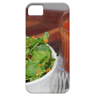 Capa Para iPhone 5 Salada de agrião do molho do tomate da cenoura do