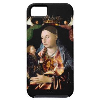 Capa Para iPhone 5 Salgando Madonna e a criança do cristo