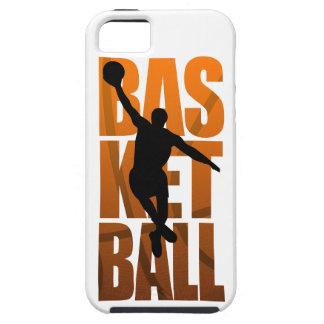 Capa Para iPhone 5 Salto de Basketballer do jogador de basquetebol