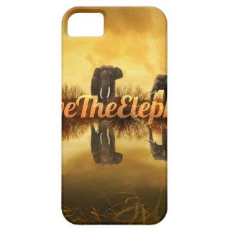 Capa Para iPhone 5 Salvar o design dos elefantes