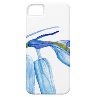 Capa Para iPhone 5 SE do iPhone da pintura do Bluebell + iPhone 5/5