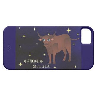 Capa Para iPhone 5 SE do iPhone do zodíaco do Taurus + iPhone 5/5S,
