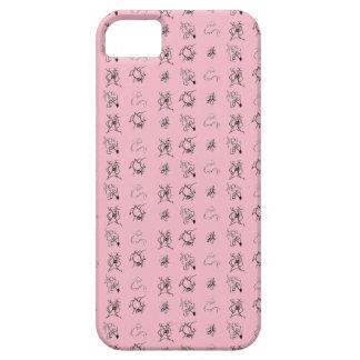 Capa Para iPhone 5 SE do iPhone + iPhone 5/5S, caso cor-de-rosa