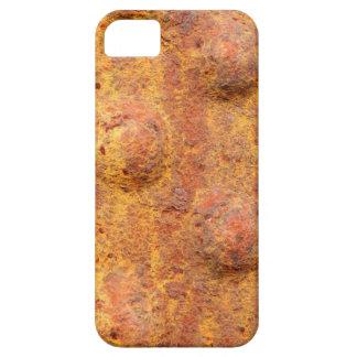 Capa Para iPhone 5 SE rebitado oxidado do iPhone do metal+caso 5/5S