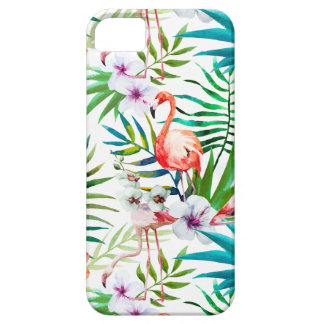 Capa Para iPhone 5 SE tropical do iPhone de Apple + caso 5/5s