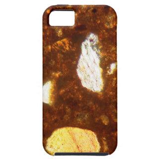Capa Para iPhone 5 Seção fina de um tijolo sob o microscópio